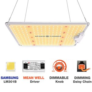 Örümcek Çiftçi SF 1000W Tam Spektrum Led büyütün Işık Lambası İçin VEG Bitkiler Çiçekler Samsung LM301B MeanWell sürücü Büyüyen ışıklar
