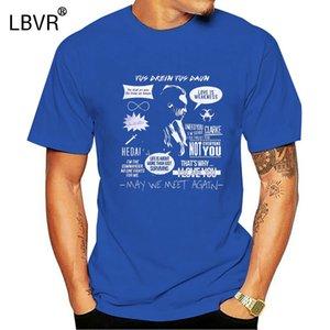 Commandant Lexa-Heda-the100-CLEA T-shirt Taille de S-2XL hommes cool fierté Casual T hommes shirt unisexe Nouveau mode tshirt Taille en vrac