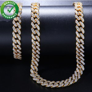 Iced out chains designer necklace mens bracelets hip hop jewelry luxury gold pandora style charms bling diamond cuban link fashion for love