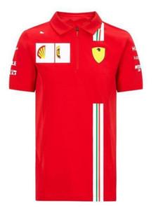 2020 yeni F1 yarış takım elbise tişört POLO gömlek polyester çabuk kuruyan takımı yeni ürün racing tulum otomobil fanlar kısa kollu erkek açık spor