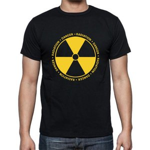 Danger Radiation Caution Hazard Hazardous Symbol Pollution GMO T-Shirt