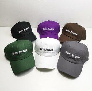 MELEKLER PA baskı 2020ANGELS Güzellik gelgit PALM sprey boya Golf Sun Hat Caps gündelik spor Topu Caps beyzbol şapkası erkek ve kadınlar gevşek