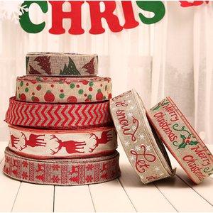 Рождество Decoraton белье лямки печатных горошек лямки Рождественская елка украшения в японском стиле украшения