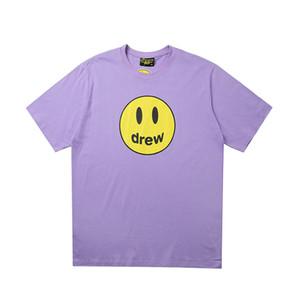 2020 novos amantes camisas homem mulheres t-shirt ocasional mangas curtas UNIQLO X de Drew X Sesame Street L moda roupa tees outwear tee partes superiores de qualidade