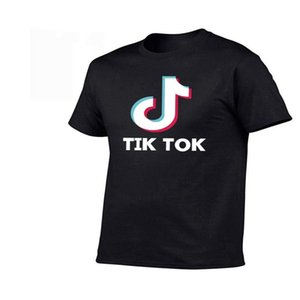 100% cotton Men T-shirt high quality fashion casual Tok-tik Music Dance Funny t shirt Teenager Harajuku clothing tshirts