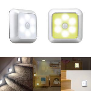 Smart LED PIR Motion Sensor Light Cupboard Wardrobe Bedroom Night Lamp LED Cabinet Auto Night Light For Closet Stairs Kitchen