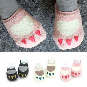 2020 Spring Creative Cute Design Baby Socks Newborn Infants lovely baby boy girls fleece floor socks 0-4t