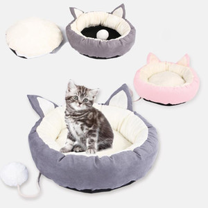 Pet Cat Bed Nest Super Soft Pet Letto Pet Kennel Dog Round Cat Winter Warm Sleeping Bag Peluche Puppy Cushion Mats Dogs Perros Acesorios