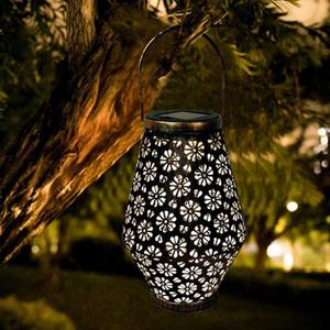 2020 Solar LED Lantern Garden Hanging Lamp Lawn Landscape Light Stake Lamps Lawn Light Solar LED