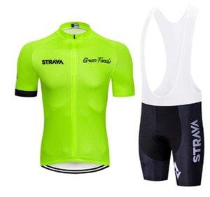 2020 Strava Radfahren Jersey Set Sommer Mountainbike Kleidung Pro Fahrrad Radfahren Jersey sport AnzugMaillot Ropa Ciclismo