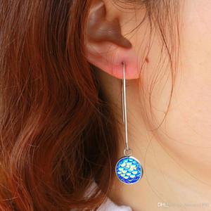 Latest New Arrival Summer Simple Fashion Fish Scale Drop Earrings Stainless Steel Hook Earrings Women Jewelry