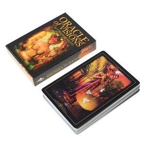 Из карты Oracle Oracle Cards Game деке Palying для Oracle карты ПК 44 Настольные игры Visions Tarot L Party sweet07 экшн