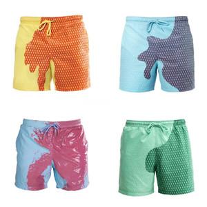 Stampa Uomini Costumi da bagno 2020 estate sexy costume da bagno slip a vita bassa costume da bagno Bulge Beach Wear Moda Breve Sport Homme Swim # 540