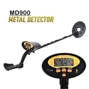 Metal Detectors MD900 LCD Underground Detector Pinpointer Portable Treasure Scanner Finder Tool 4+1 Modes