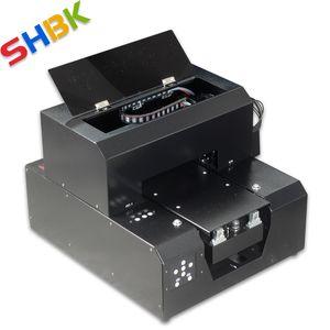 SHBK. Phone Case Printers UV flatbed Printer for Metal Wood Leather Glass Acrylic Board A4 Print Machine Inkjet Machine 2020