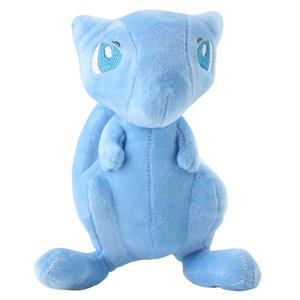 18 cm New 2019 Anime Shiny Mew Stuffed Plush Cartoon Peluche Dolls Christmas Gift Baby Toys