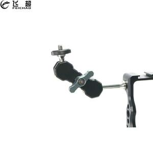 New Magic Arm 1/4 Zoll Schrauben Doppel-Kugelkopf-Adapter Halterung für DSLR Kamera-Monitor-LED-Licht-Blitz-Monitor Video Cage Rig
