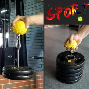 Poids de levage Dumb Grip boule de Bell + Haltère Bracketing Fitness Grip balle Haltères rack bras exercice Accessoires outil