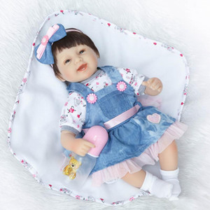 NPK Cute Simulated Doll Realistic Baby Play House Toy Gift