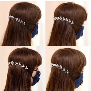 Multiple Styles Crystal Bride Headdress Mask Lanyard Bracket Wedding Dress Accessories Bridal Hair Jewelry Vrystal Flower Hair Comb
