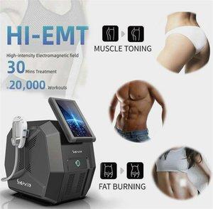 Muscle Emsculpt Fat Redução HI-EMT eletromagnética desenvolvimento de Firmer Abdomen Fortalecimento Toning endurecimento das nádegas Machin