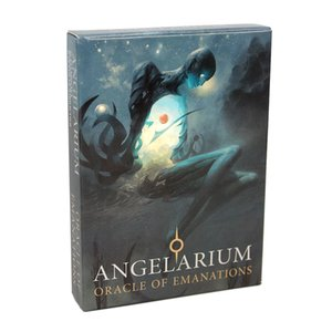 Angelarium Oracle of Emanations Cards Game Five languages English Spanish angels of the Kabbalah Ultimately Mysterious
