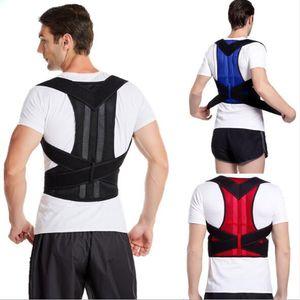 Men Women Humpback Correction Belt Shoulder Strap Adult Back Posture Corrector Adjustable Lumbar Brace Support Belts