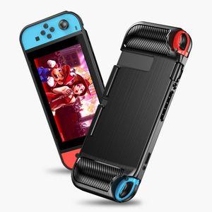 Per Nintendo Interruttore conchiglie console di gioco TPU antiurto casi portatili calotta di protezione trasparente Acrilico trasparente