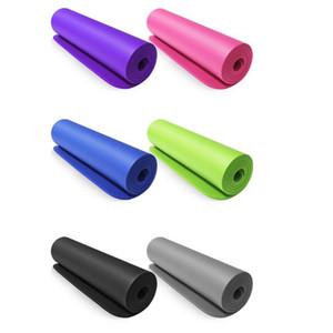 NBR Yoga Mat High-Density Спорт Мат Фитнес Безопасный Экологичный