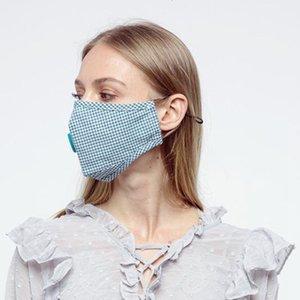 10 Yetişkin Renkler USPS Ücretsiz Kargo tarafından Los Angeles'a PM2.5 Fliter için İç Socket ile Pamuk Maske Denetleyicisi Nefes Vana Maske