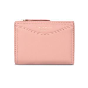 бумажник мульти карта изменение кармана Женской молнии короткого кошелька кошелек женских Кошельки для монет