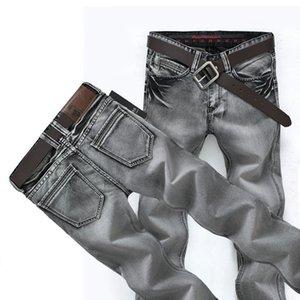 Mens Jeans Classic Retro Nostalgia Straight Denim Jeans homme men Plus Size 28-38 Long Pants Trousers Brand Biker Jean for men