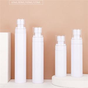 60ml 80ml 100ml 120ml vazio frasco de spray garrafas de loção bomba plástico recarregáveis recipientes cosméticos pulverizador atomizador Garrafa para o curso HHD1557