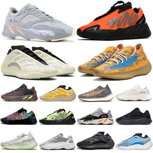 zapatos tenis 3M STATIC RUNNER zapatillas hombre mujer Boost 700 v2 Running Shoes For Womens Mens Azael Alvah Alien Mist Vanta Luxury Designer Sneakers Size 46