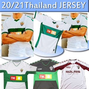 20 21 ELCHE CF FOOTBALL JERSEYS Albacete 2019 2020 # 9 # Qasmi 7 Nino Sanchez Milla FOOTBALL haut Thaïlande