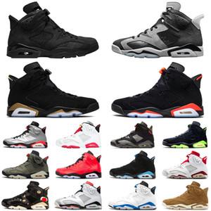 6 6s мужские баскетбольные кроссовки jumpman дымчато-серый DMP hare уличные мужские кроссовки спортивные кроссовки размер 7-13