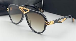 최고의 남자 UV400 안경 야외 잭 I 선글라스 파일럿 풀 프레임 미러 다이아몬드 중공 하이 엔드 고품질의 안경