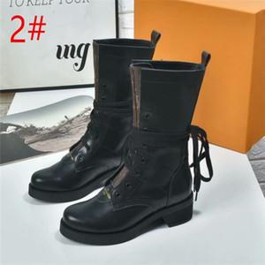 الشتاء المرأة الجديدة جلدية METROPOLIS RANGER الكاحل ارتفاع كعب الحذاء المطاط وحيد الرئيسية أحذية Deisgner سيدة رسالة طباعة قماش التمهيد عارضة