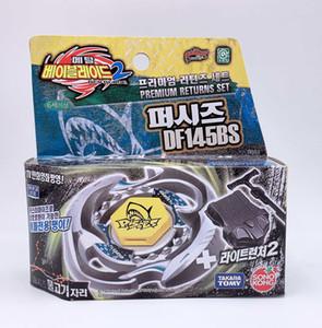 100% Takara Tomy Beyblades BB83 metal de fusão Peixes DF145BS premium Retorna Starter Set como brinquedos para crianças