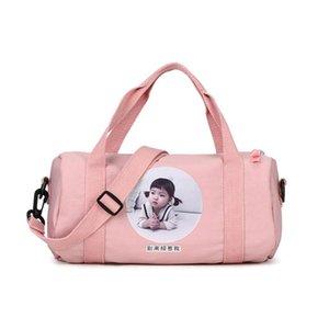 Large Capacity Travel Gym Tote Travel Bag Ladies Large Capacity Bag Cute Fan Cartoon Handbag Nylon Cross-Body Dropshipping