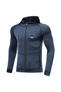 FC Girondins de Bordeaux FC New Soccer Jacket Design Best Men Football Tracksuit Messi Jersey Full Zip Warm Up Football Tracksuit
