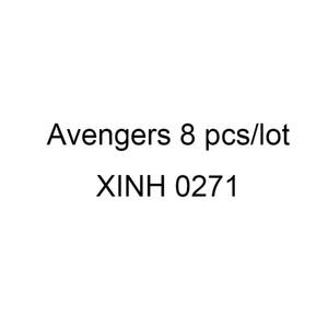 XINH 0271 슈퍼 영웅 미니 액션 피규어 장난감 로키 닥터 둠 비명 인간 토치 스파이더 맨 빌딩 블록 장난감