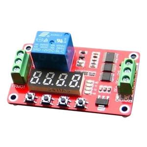 FRM01 12V multifunzione Relay Cycle Timer Modulo 18 Modalità programmabile