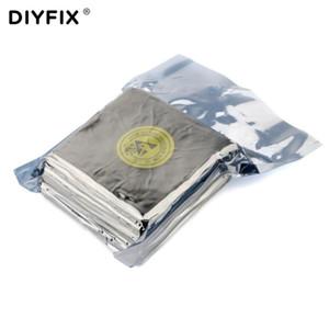 DIYFIX 10x10cm ESD حر غبار القماش على شاشة الهاتف المحمول LCD تنظيف أداة لينة غرف الأبحاث ممسحة 176g / كيس الغبار مزيل جودة عالية