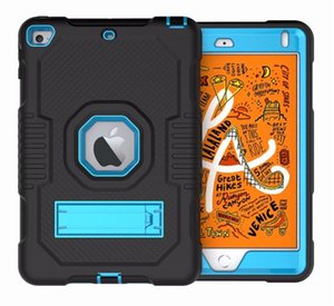 Military Extreme Heavy Duty silicone pc shockproof case for ipad 10.2 pro 12.9 11 newipad 9.7 air4 mini45 samsung T510 P610 T290 amazon HD 8