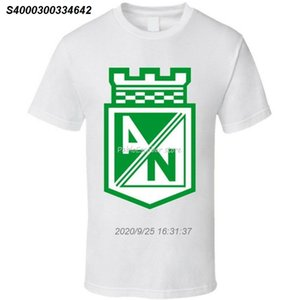 Clube do futebol do futebol T-shirt da Colômbia Atletico Nacional Cotton New Trends Tops Camiseta 020269