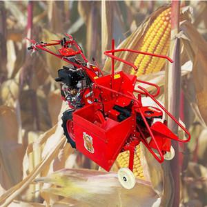 200kg Tarım küçük ev kullanımı mısır hasat makinesi İyi Fiyat Kısa Teslim Süresi Küçük Mısır Harvester Makina