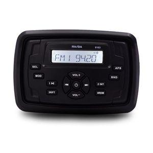 Wasserdichtes Marine-Bluetooth-Radio Audio Sound System FM AM Receiver Platz MP3-Player für RV UTV Auto-Boot Wagen Motorrad