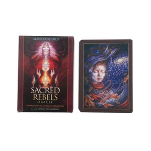 Oracle Deck Palying Games Oracle For Pcs Tarot Party Scared Rebels Cards Game Board 44 Cards Card trmbw sweet07