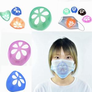 İç Destek Çerçevesi Maskeler Koruma Parantez Tek Nazal Tampon Karşıtı Ruj Kapalı Makyaj Karşıtı Sızdırmazlık Parantez LJJP414 Maskesi
